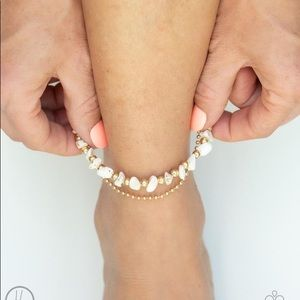 New! Paparazzi Beach Expedition Gold Anklet